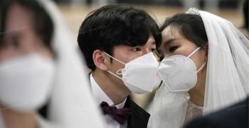جشن عروسی در زمان شیوع ویروس کرونا