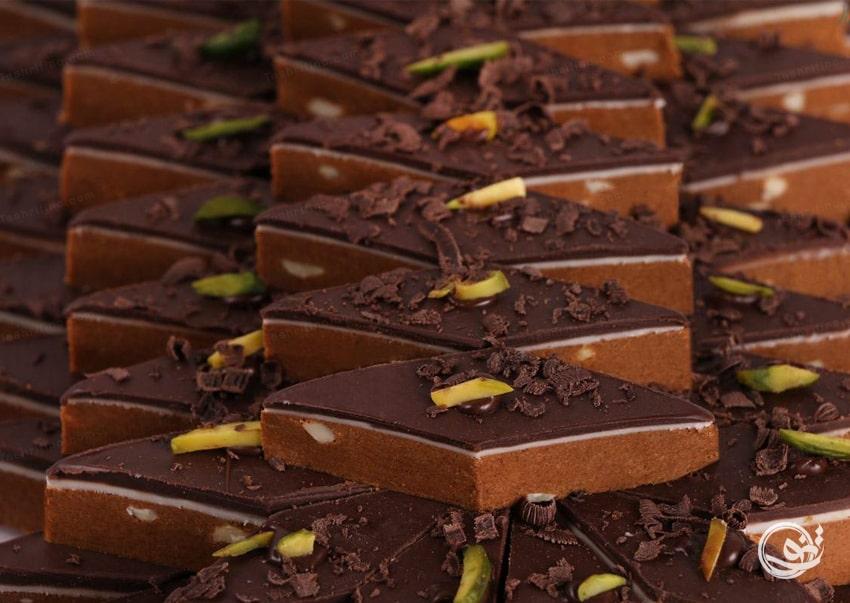 شیرینی شکلاتی - مدل شیرینی نوروز 99