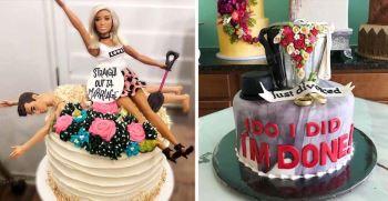 جدیدترین نمونه های کیک طلاق در ایران 2020!