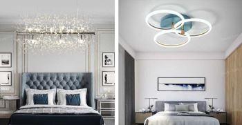 لوستر اتاق خواب عروس - مدل های جدید لوستر اتاق عروس 2021