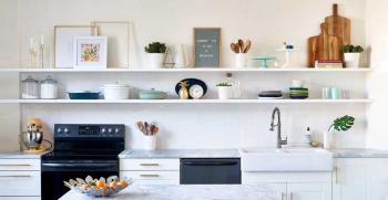 تزیین آشپزخانه عروس | 99 ایده جدید تزیین اشپزخانه عروس 2020