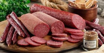 طرز تهیه سوسیس خانگی [با گوشت و مرغ] - سالم و خوشمزه! + فیلم