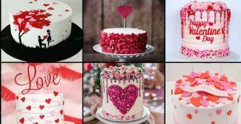 کیک ولنتاین 2021 [مدل کیک ولنتاین خاص و جدید 99]