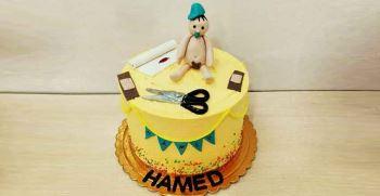 تزیین کیک جشن ختنه سوران + انواع متن مناسب کیک ختنه سوران