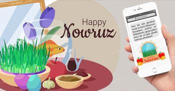تبریک عید نوروز به زبان ترکی استانبولی (نوروز 1400)