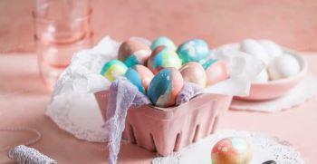 آموزش تزیین تخم مرغ هفت سین 1400 - ایده تزیین تخم مرغ رنگی نوروز