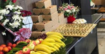 بسته بندی میوه برای مراسم