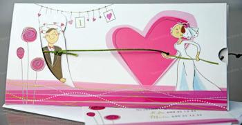 جذاب ترین مدل های کارت عروسی فانتزی