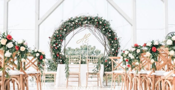 جدیدترین دیزاین محوطه باغ در عروسی تابستانه 2020