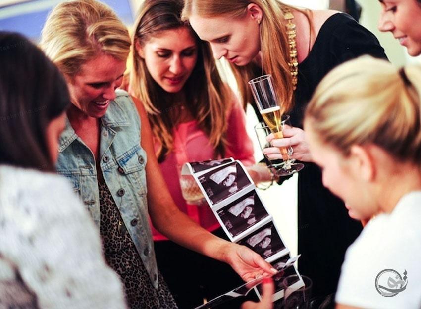 آمادگی برگزاری جشن اعلام بارداری
