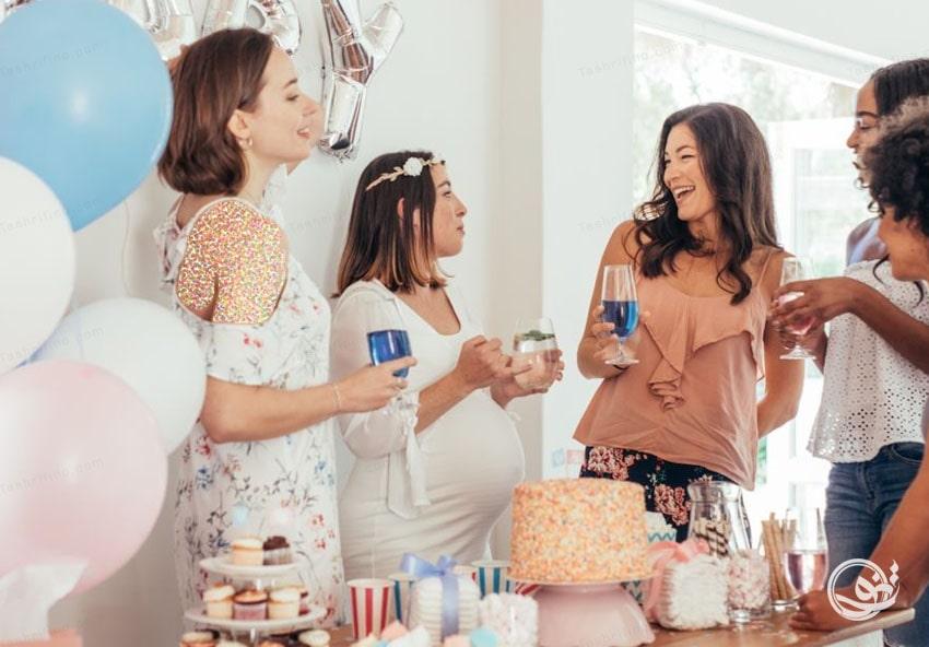جشن اعلام بارداری چیست
