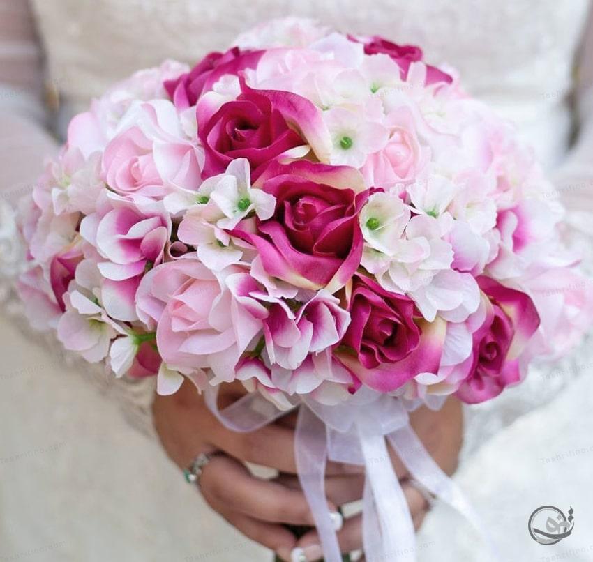 شیک ترین مدل دسته گل عروس اروپایی