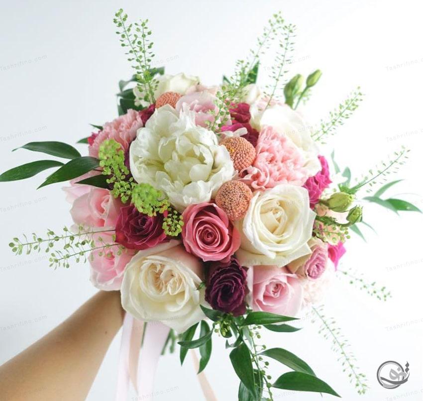 دسته گل بوهو جذابترین دسته گل عروس