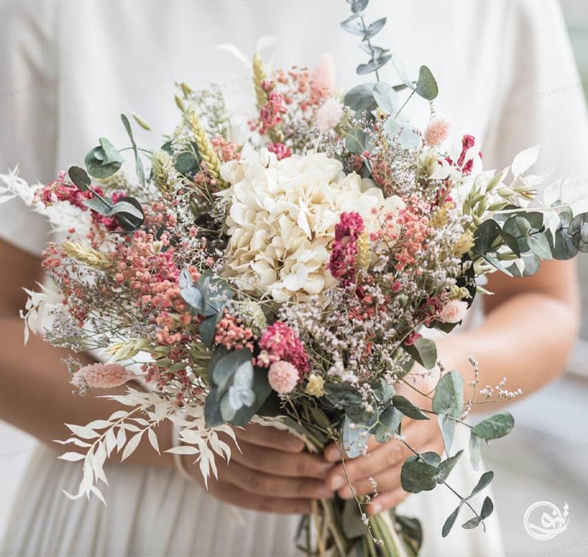 زیباترین دسته گل روستیک