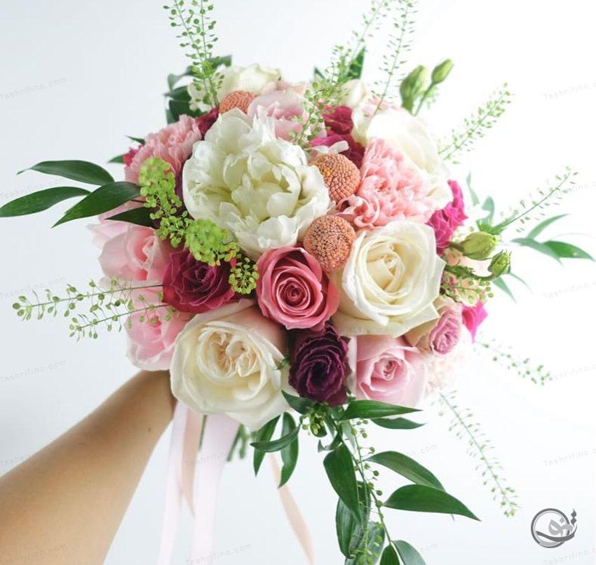 لوکس ترین مدل دسته گل عروس اروپایی