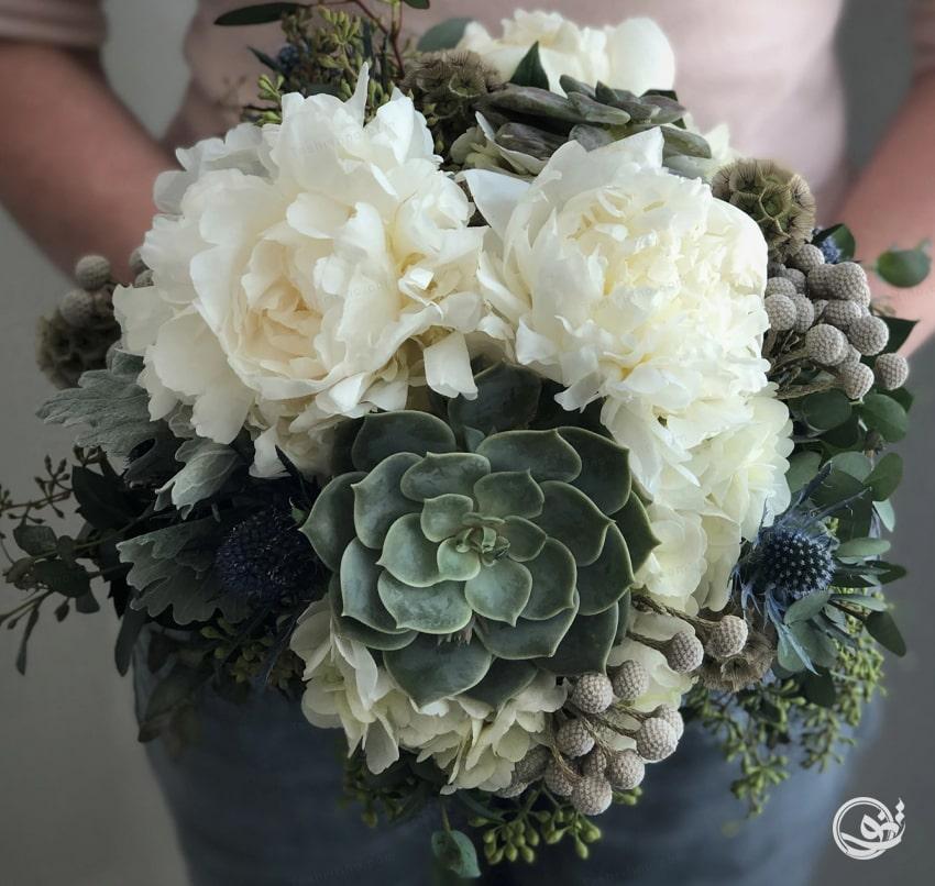 لاکچری ترین مدل دسته گل عروس اروپایی