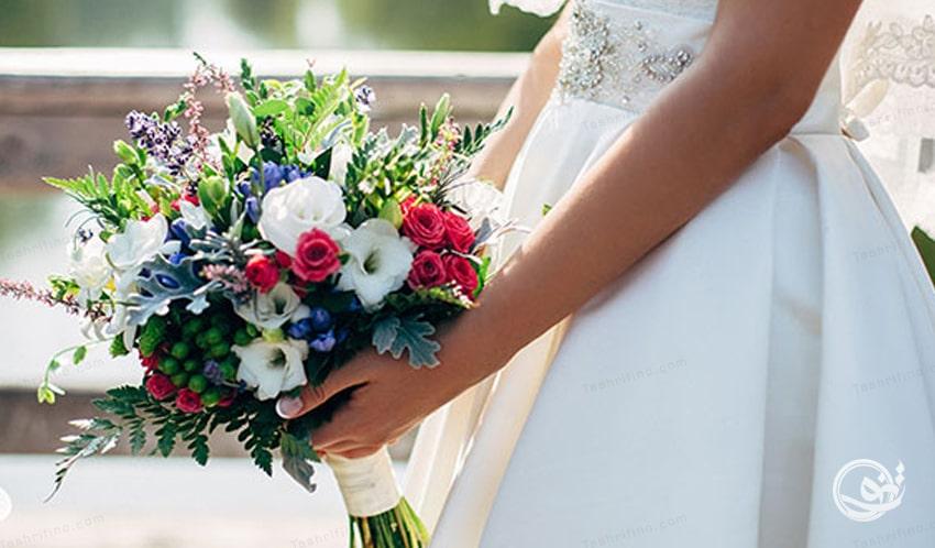 دسته گل روستیک عروسی