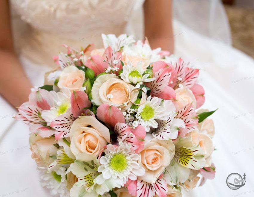 بهترین مدل دسته گل عروس اروپایی