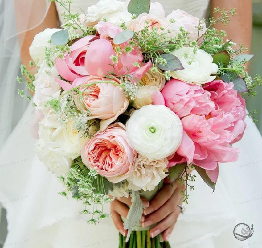 زیباترین مدل دسته گل عروس اروپایی