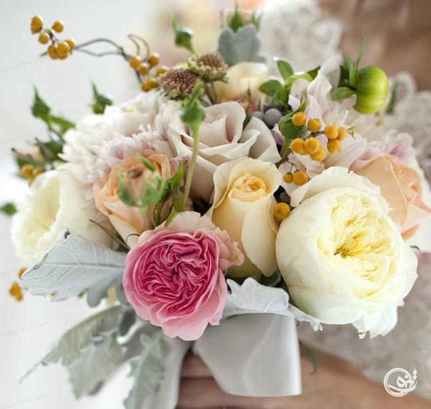 لاکچری ترین و بهترین مدل دسته گل عروس اروپایی