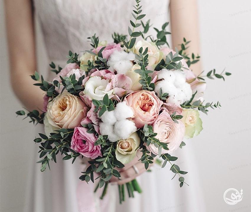 دسته گل بوهو خاص ترین مدل دسته گل عروس