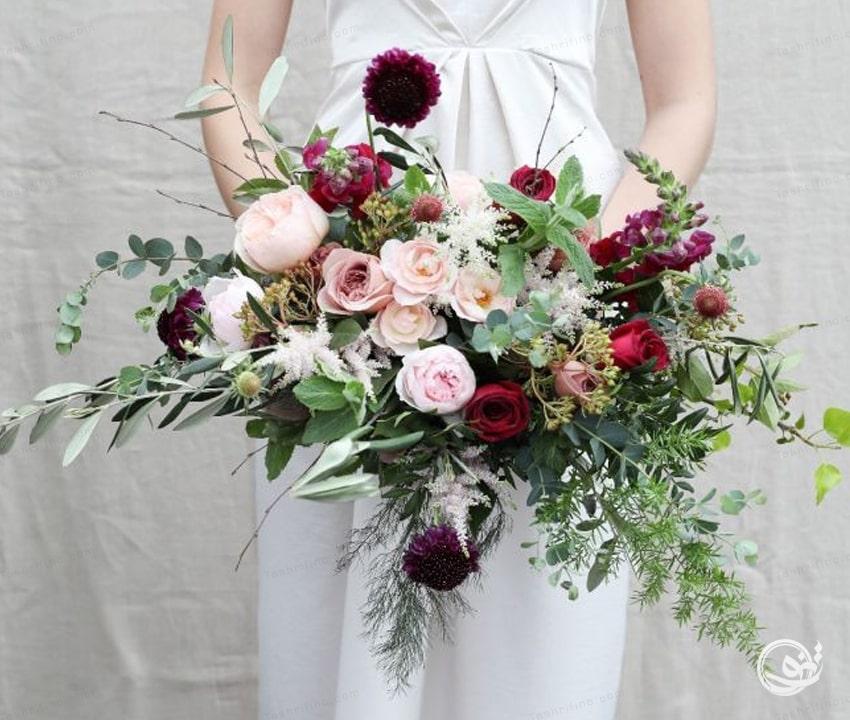 دسته گل بوهو زیباترین مدل دسته گل عروس