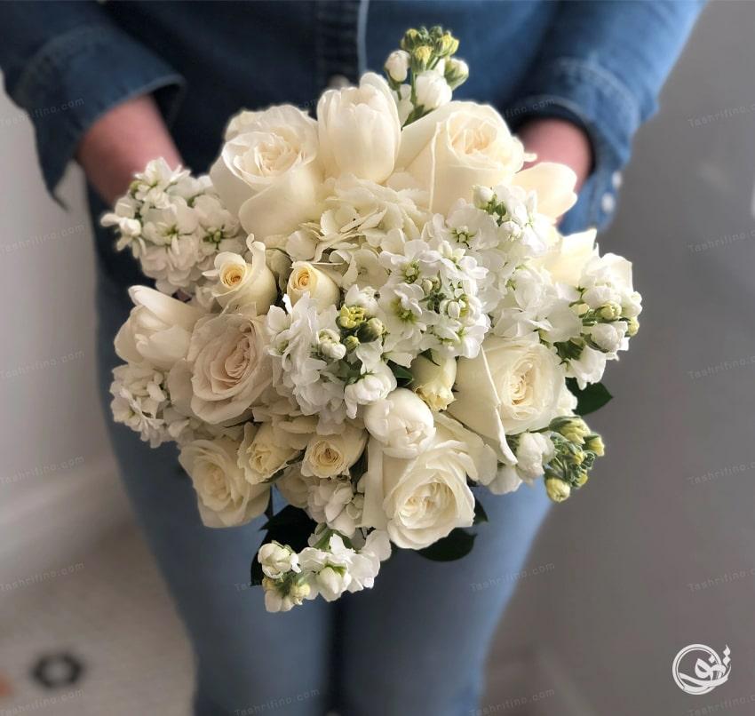 خاص ترین مدل دسته گل عروس اروپایی