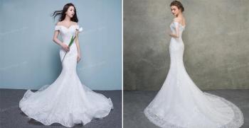 لباس عروس مدل ماهی: پشت باز، شاین، اسکارلت، پرنسسی  جدید 2020