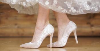 مدل کفش عروس 2020 | کفش عروس اسپرت ، راحت ، لژدار، پاشنه دار