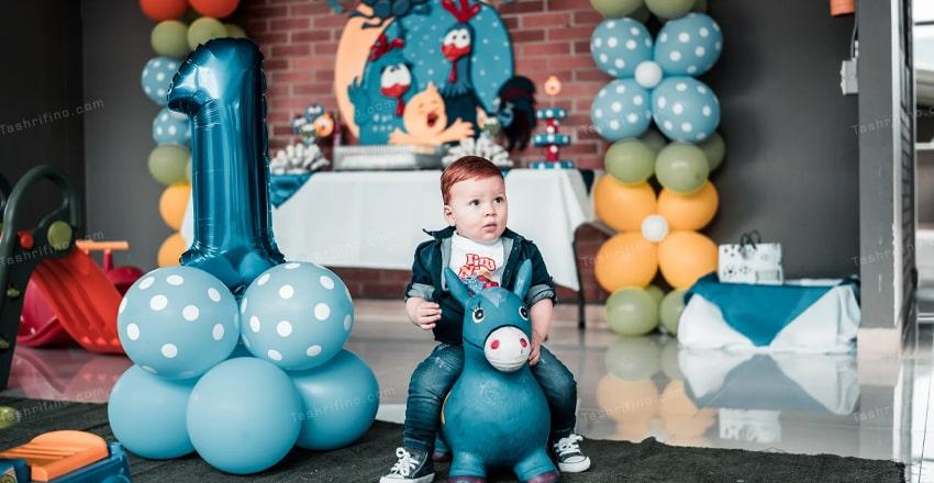 تزیین تولد پسرانه ساده و جذاب (بچه و بزرگسال) مدل 99 - 2020