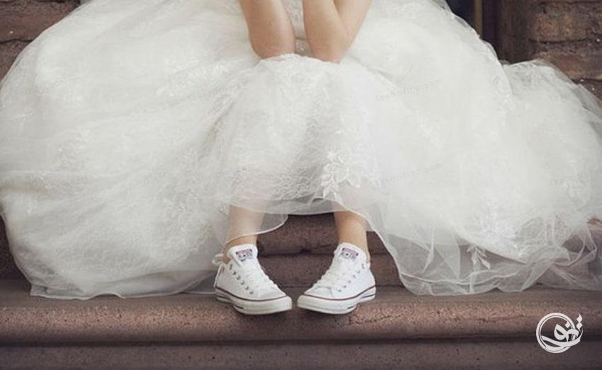 ایده جذاب برای کفش عروس