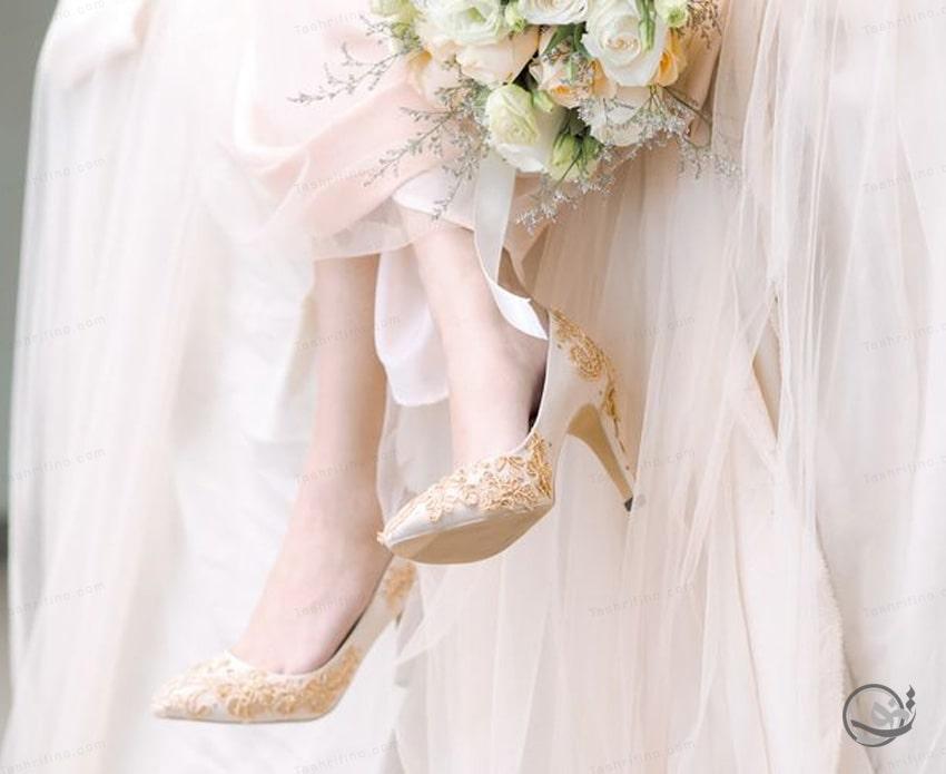 خرید شیک ترین و بهترین مدل کفش عروس