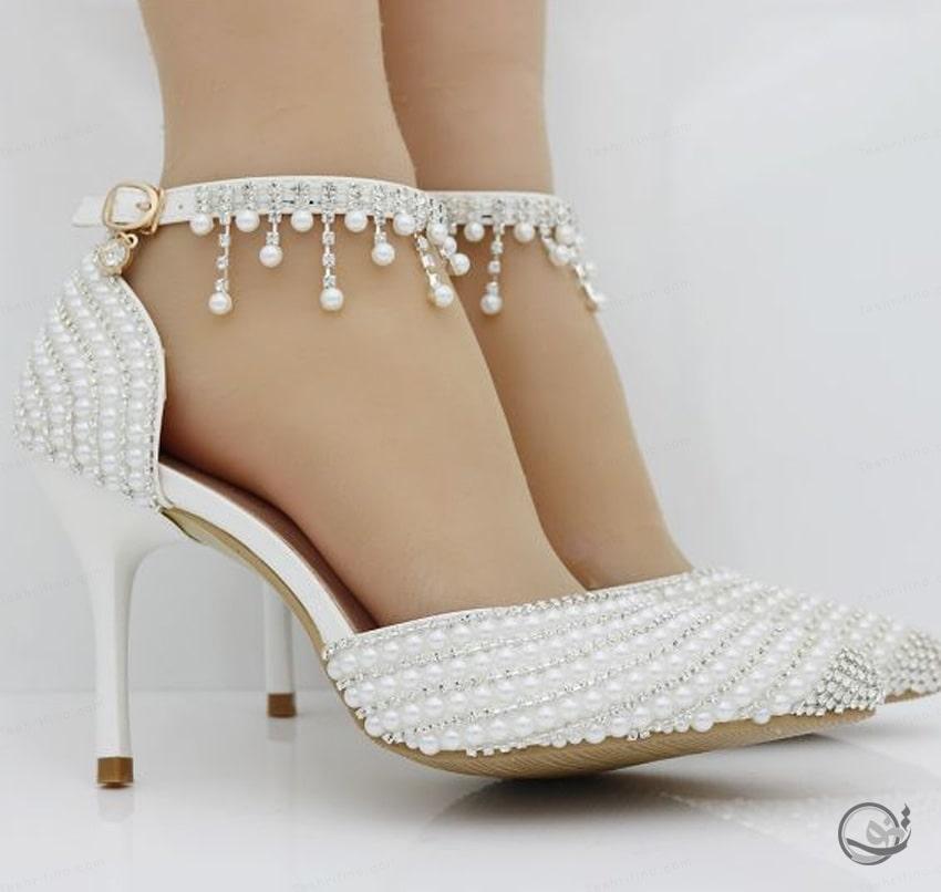 جدیدترین و بهترین مدل کفش عروس