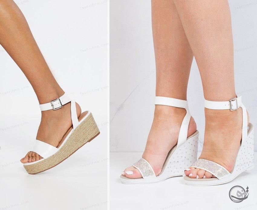 خرید جدیدترین و بهترین مدل کفش عروس لاکچری