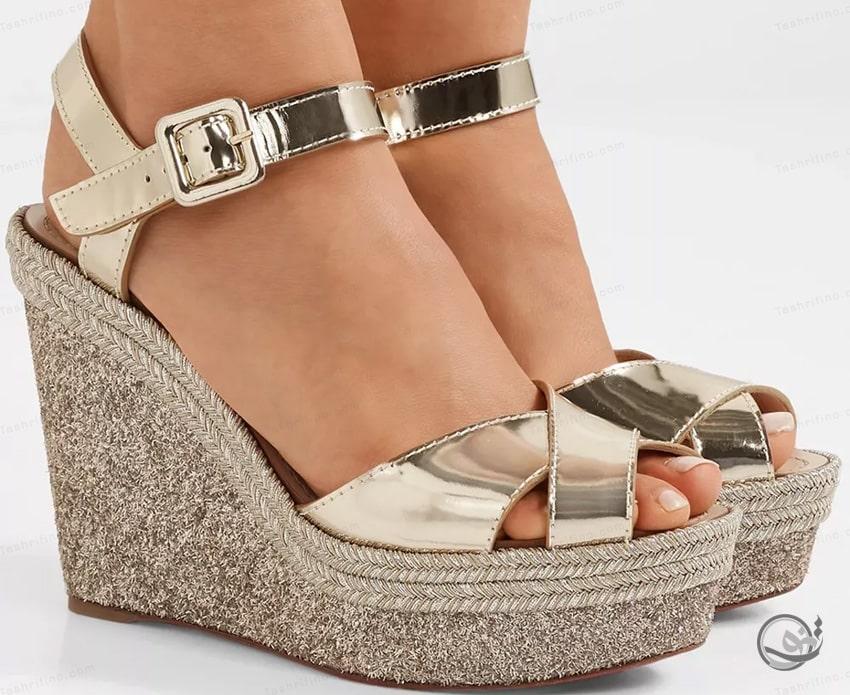 خرید جدیدترین و بهترین مدل کفش عروس لژ دار