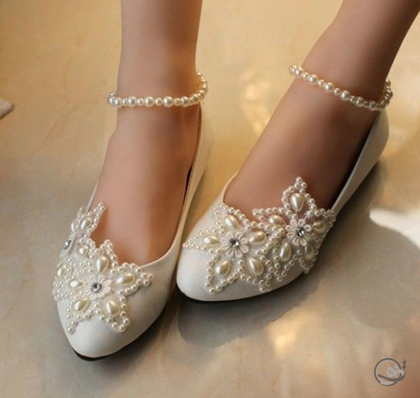 بهترین مدل کفش عروس اروپایی