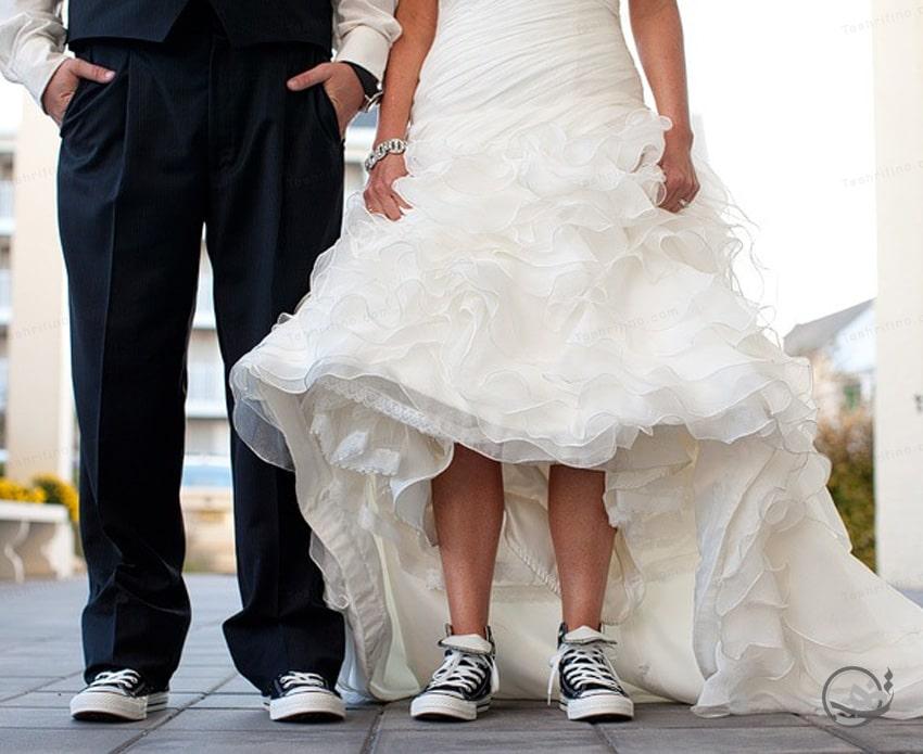 خرید شیک ترین مدل کفش عروس