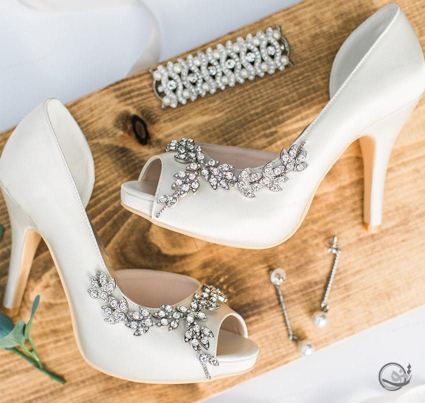 بهترین مدل کفش عروس عربی