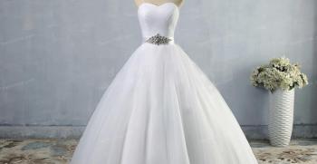 50 مدل لباس عروس پرنسسی پفی 2020 [شیک] + عکس