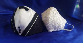 مدل ماسک پارچه ای برای داماد  - ماسک داماد [لاکچری]
