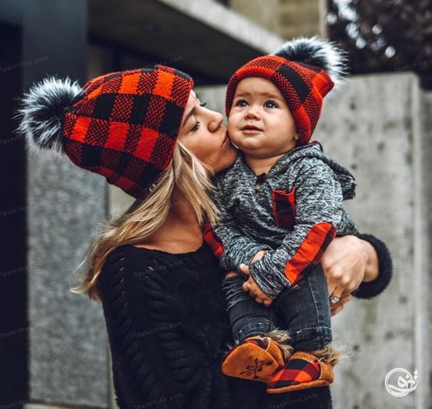 جدیدترین مدل ست مادر دختری مجلسی