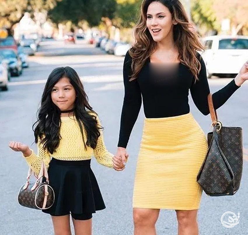 بهترین مدل ست مادر دختری مجلسی ایرانی