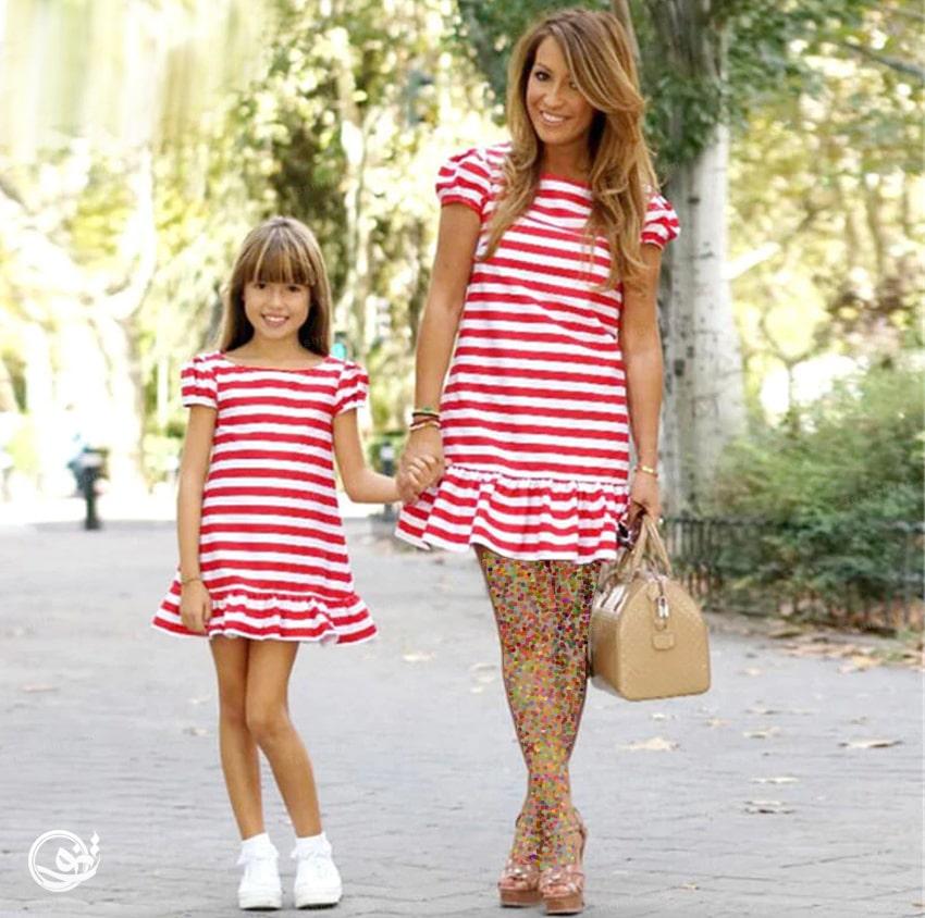 لباسست مادرو دختر از کجا بخرم