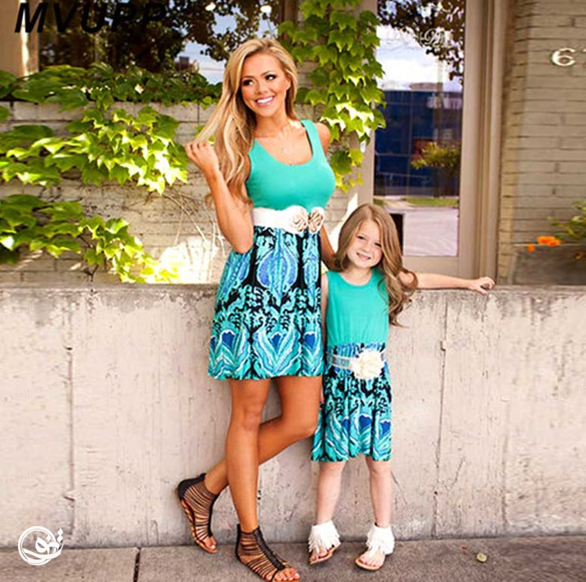 فوق العاده ترین مدل ست مادر دختری مجلسی