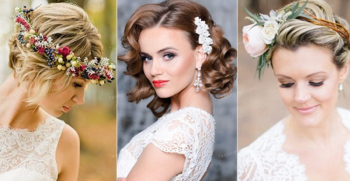 50 مدل شینیون موی کوتاه برای عروسی [مدل ویژه عروسی های 2020]