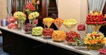 تزیین میوه برای مهمان مناسب مهمانی های ساده و خاص