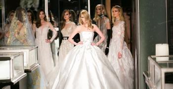 انواع لباس عروس دکلته پشت باز و بسته (پرنسسی)
