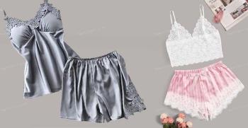 معرفی انواع مدل های لباس خواب عروس + تصاویر