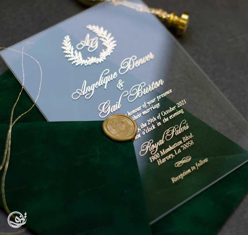 2-استایل کارت عروسی