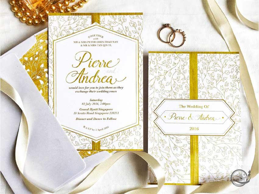 خاص ترین کارت عروسی لوکس